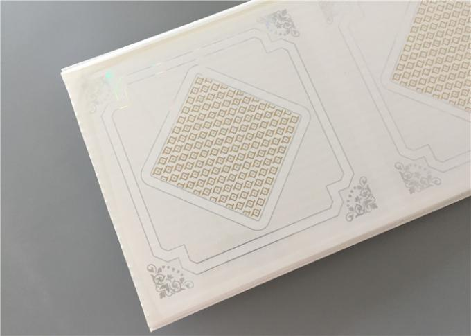 Hot Stamping PVC Ceiling Boards Pvc Decorative Ceiling Tiles 300×9 Mm