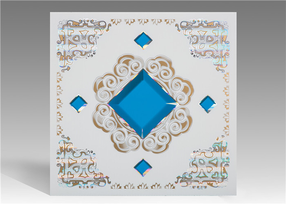 China Economical Moisture Proof Ceiling Tiles For Drop Ceiling 2.35 Kg/M2 supplier