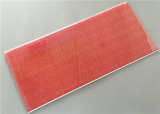 China Red Transfer Design Waterproof Wall Panels Light Weight Building Material supplier