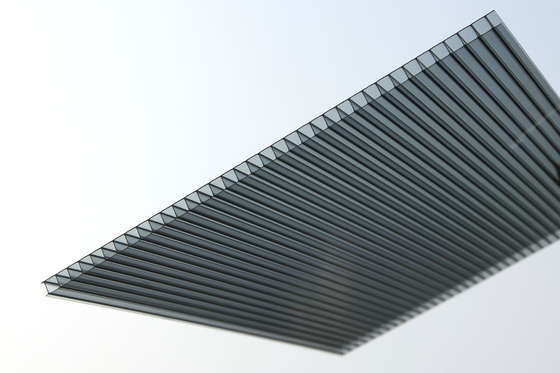 China Lightweight Polycarbonate Roofing Sheets With Lexan / Makrolon Material supplier