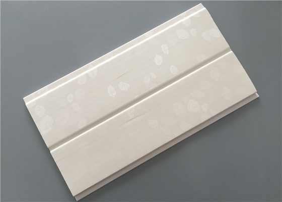 China Middle Groove White Plastic Laminate Panels For Commercial Building Materials factory
