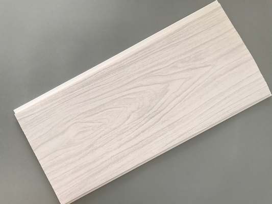 Building Material Interior Wood Grain Wall Paneling Anti Bacteria Durable