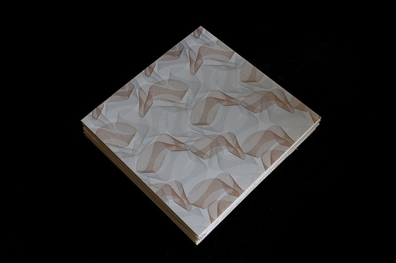 China 7mm Pvc Ceiling Tile For Living Room Heat Insulation Easily Assembly / Clean factory