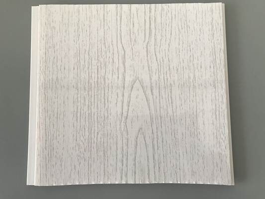 China Aging - Resistance Ceiling PVC Wood Panels 250×7mm 2.5kg / Sqm factory