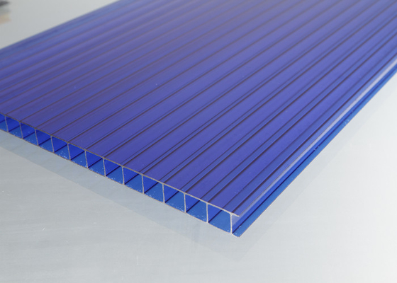 China UV Protection Greenhouse Polycarbonate Sheets , Polycarbonate Flat Roof Panels factory