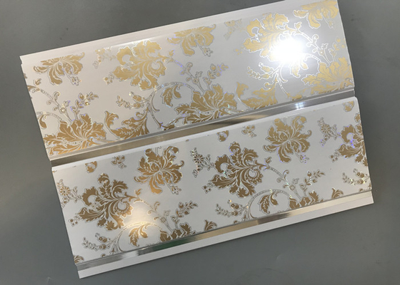 Hot Stamping Decorative PVC Panels With Persistent Material Long Using Life